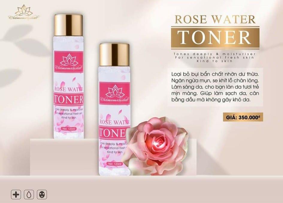 Nước hoa hồng Toner Chamomileskill
